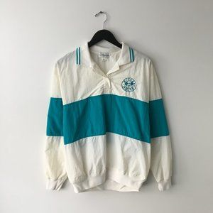 The Disney Store Color Block Jacket Pullover Large